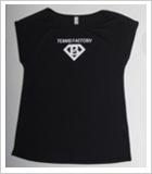 レディースドライドルマンスリーブTシャツBL01